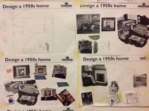 Some dream 50s interiors created by our visitors