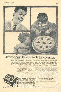 'Treat your family to Trex cooking'