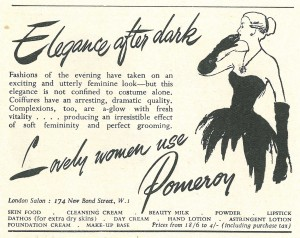 'Lovely women use Pomeroy'