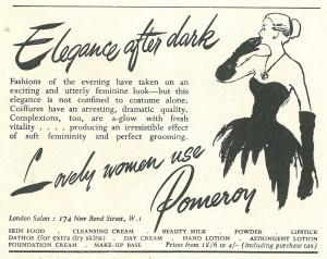 'Lovely women use Pomeroy'