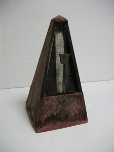 The 'haunted' metronome