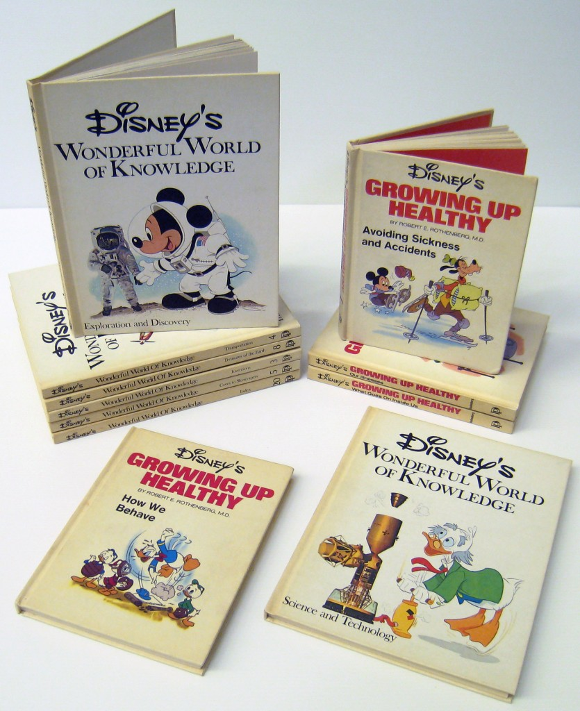 The museum's selection of 'Disney's Wonderful World of Knowledge'.